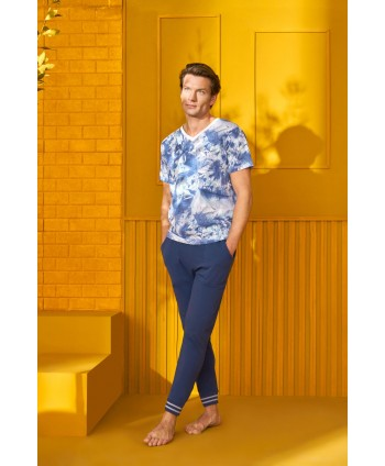 DOREANSE HOMEWEAR  men t-shirt & trousers 04940