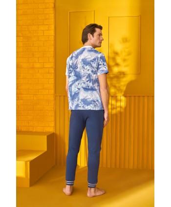 DOREANSE HOMEWEAR  men t-shirt & trousers 04940