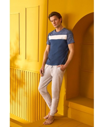 DOREANSE HOMEWEAR  men t-shirt & trousers 04760