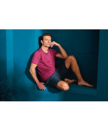 DOREANSE HOMEWEAR men t-shirt & shorts set 04890