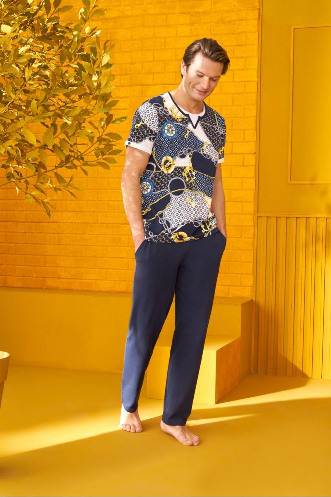 DOREANSE HOMEWEAR  men t-shirt & trousers  04920