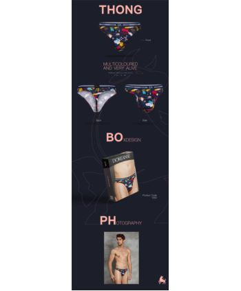 DOREANSE STRINGI SEXY COLLECTION MEMOX 01264